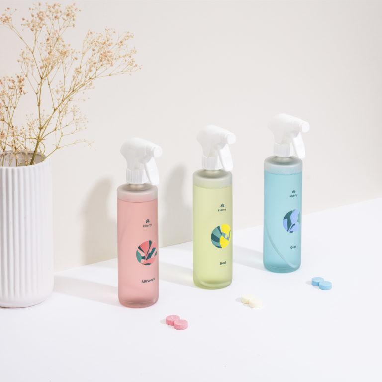 klaerny, nachhaltige Putzmittel für die Reinigung deiner Ferienwohnung