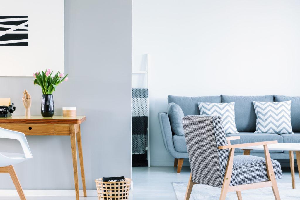 Ferienwohnung einrichten, Nachhaltigkeit, Wohnzimmer, nachhaltige Textilien