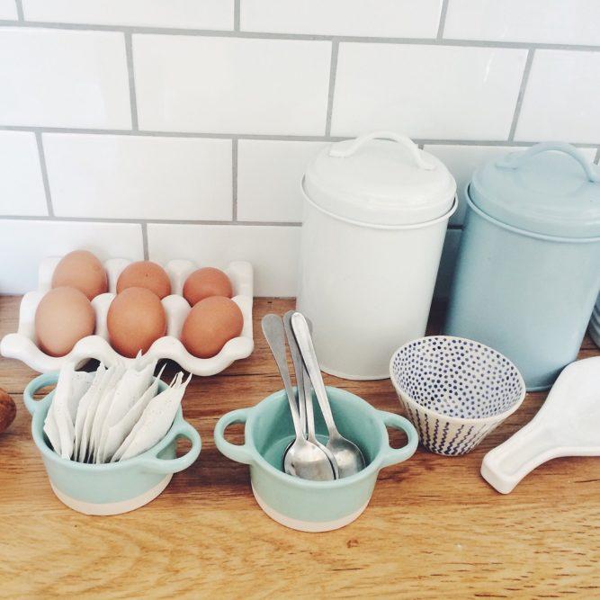 Einrichtung Ferienwohnung Küche, Alltagshelfer