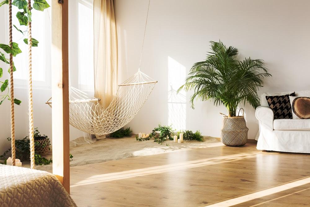 Gemütliche Ferienwohnung, Nachhaltige Einrichtung