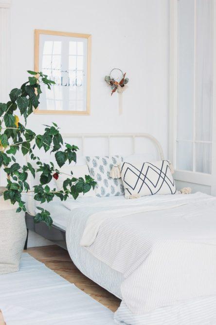 Modernes Schalfzimmer in Ferienwohnung