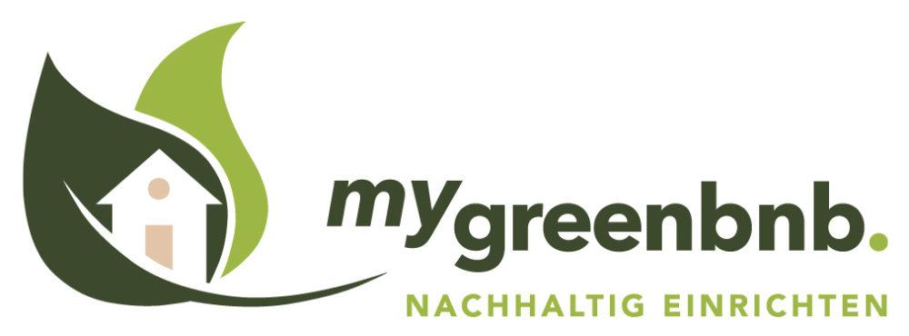 mygreenbnb logo, nachhaltige Einrichtung von Ferienwohnungen